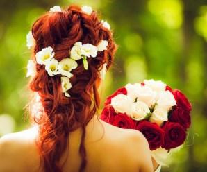 Acconciature da sposa per capelli di media lunghezza