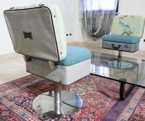 Poltrona valigia: arredo di design per il salotto