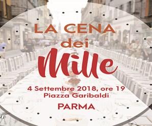 A Parma è in arrivo la Cena dei Mille sotto le stelle!