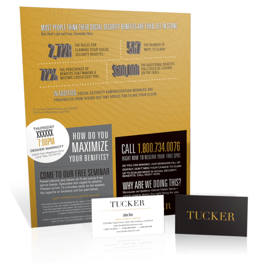 Mailer and Business Cards