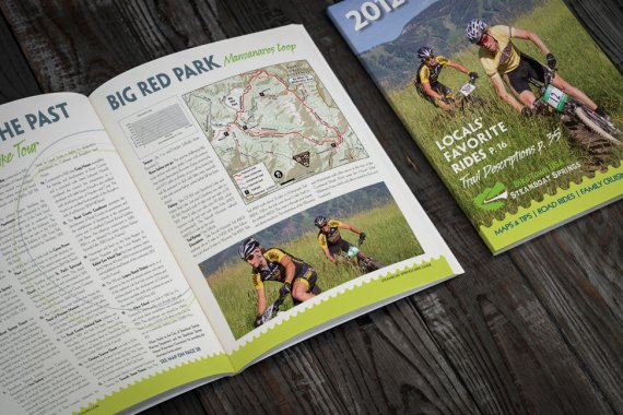 2012 Steamboat Bike Guide | spread and cover