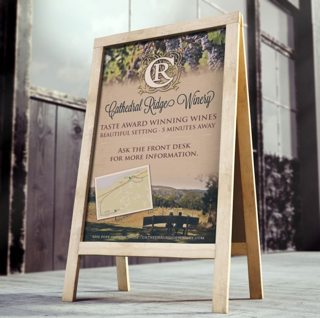 crw outdoor sign