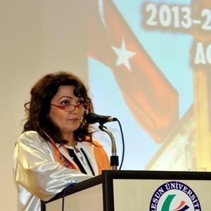 Giresun Üniversitesi Rektörü Aygün Attar