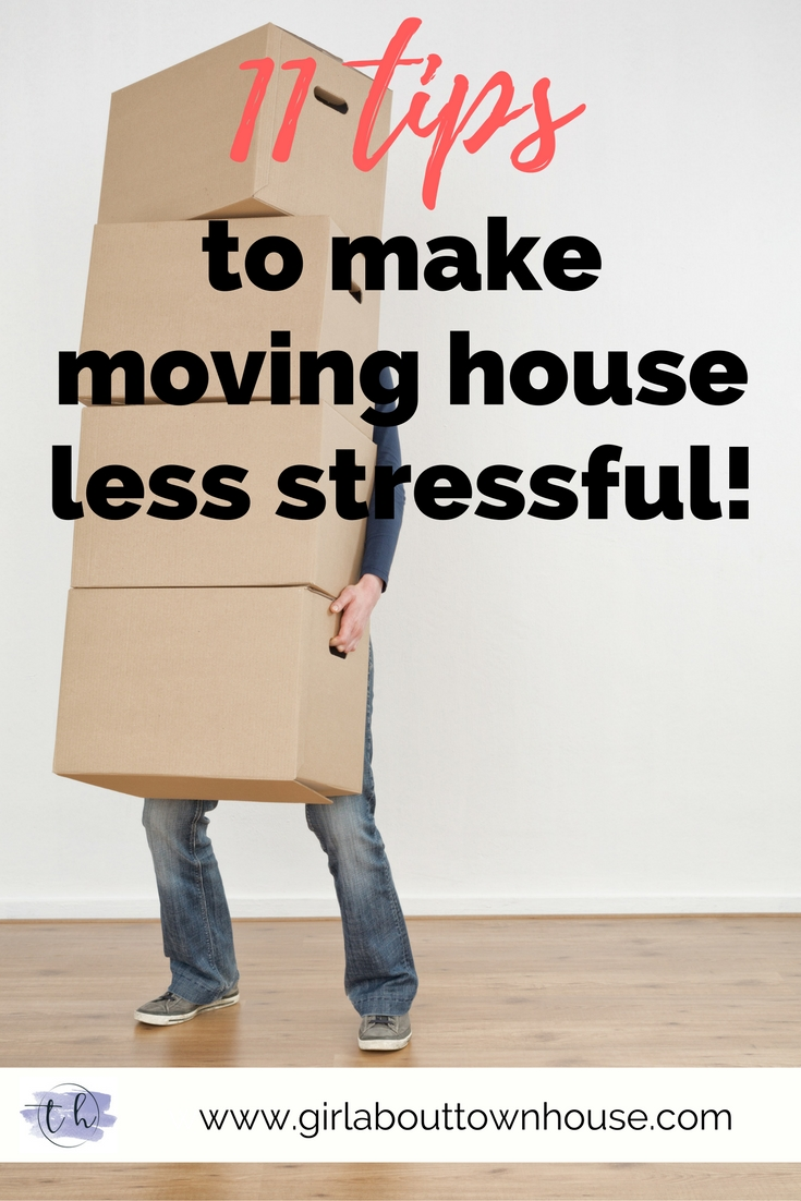 11 ways to make moving house less stressful - Girl about townhouse