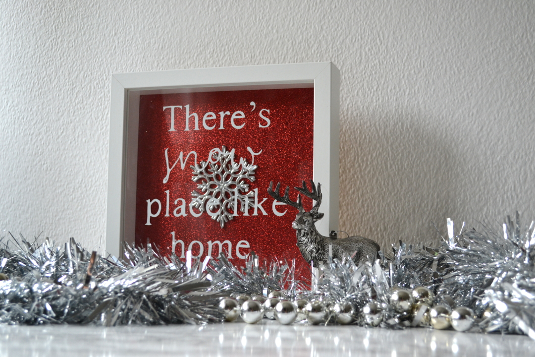 DIY Festive shadow box - Girl about townhouse
