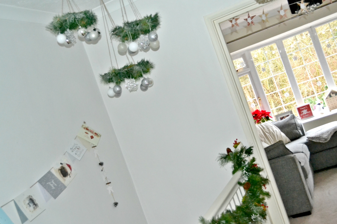 Christmas house tour 2016 - Girl about townhouse
