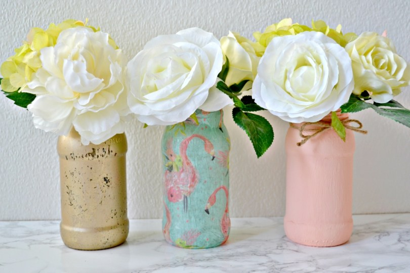 Three ways to upcycle jars - Girl about townhouse