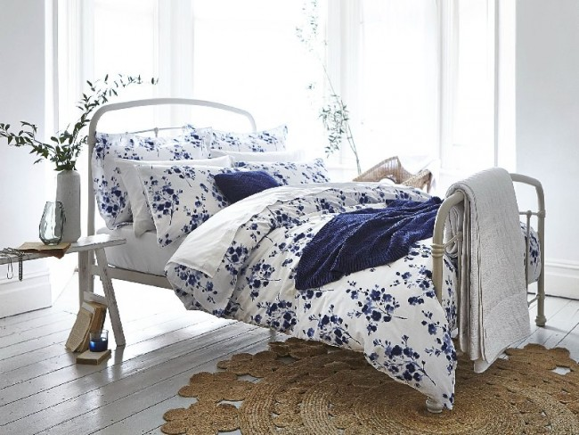 Re-invent your bedroom with fresh bedding.