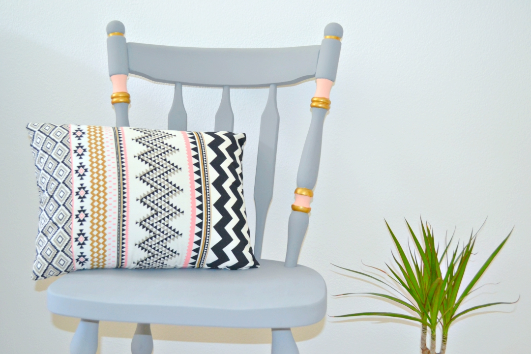 Lovely Upcycling Ideas: Chalk Paint Chair Makeover