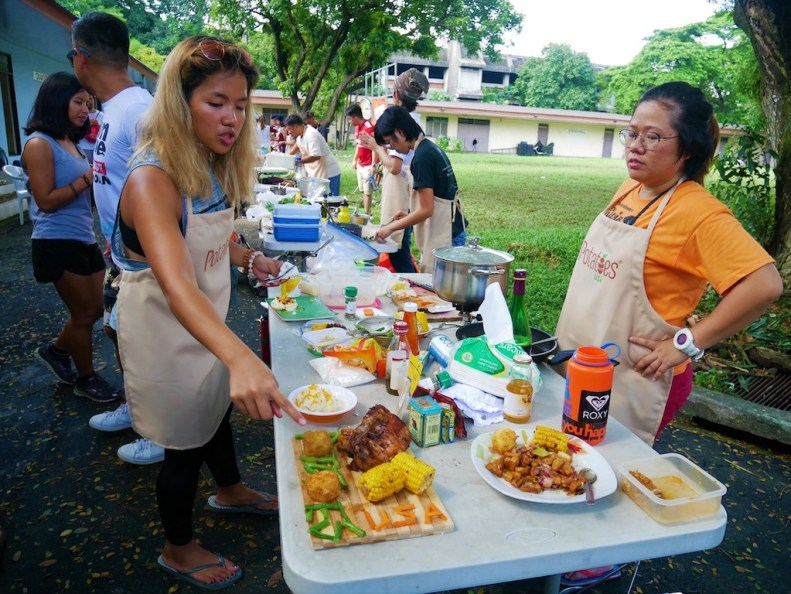 UPM Kalawang Chef Challenges UP Mountaineers in a Cook-off
