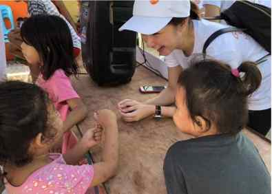 400 GSK Ph Employees Visited Gawad Kalinga and Smile Train Sites for Orange Day