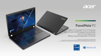 Acer Unveils 3 Commercial-Use Products In Its TravelMate Notebook Series