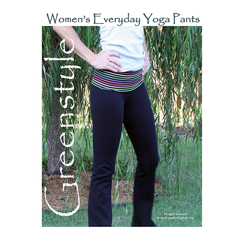 Greenstyle Women's Everyday Yoga Pants Sewing Pattern