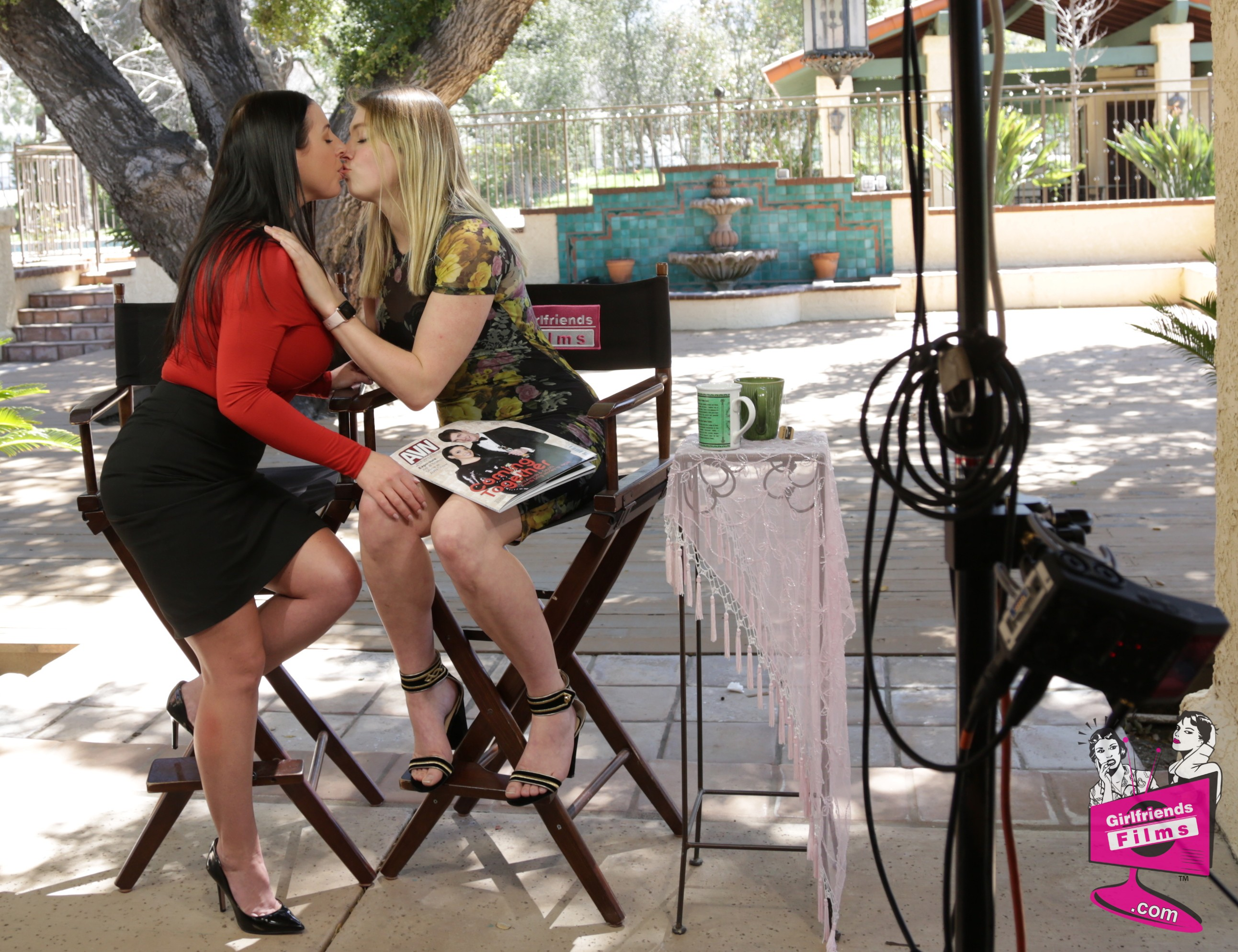 Angela White and Giselle Palmer in Lesbian Sex 18