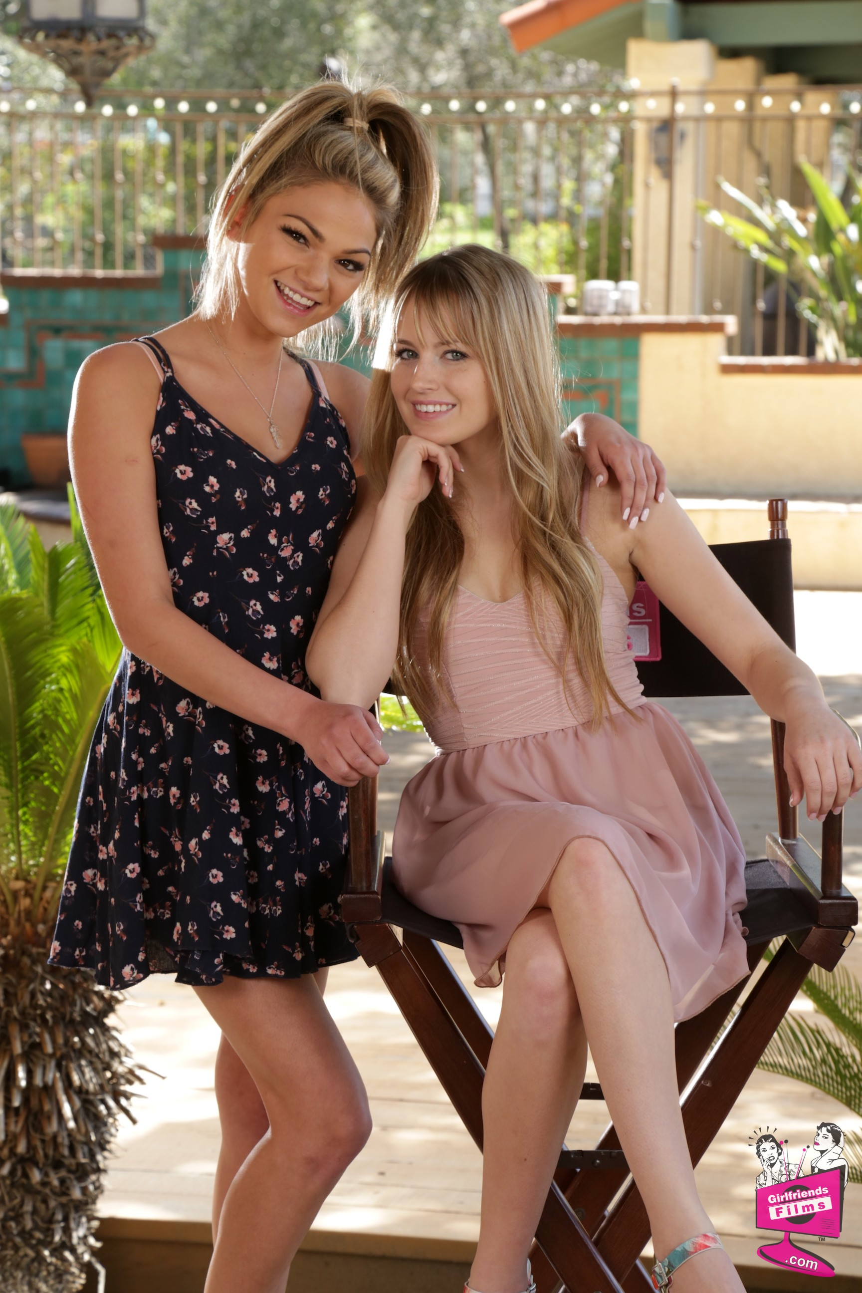 Athena Faris and Scarlett Sage