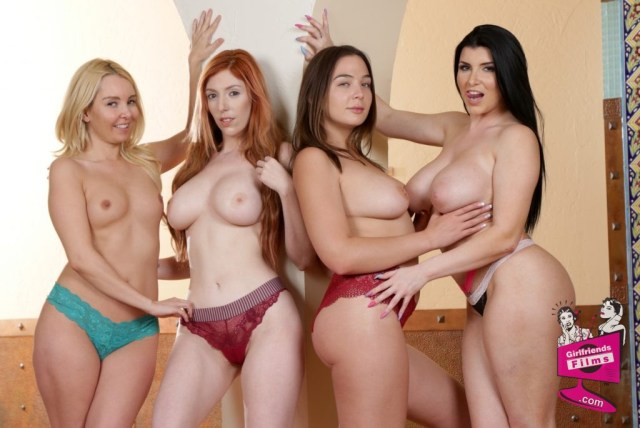 Cast of Lesbian Sex 18