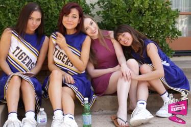 Cast of Cheer Squad Sleepovers 27