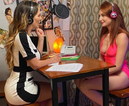 Cherie DeVille and Lacy Lennon