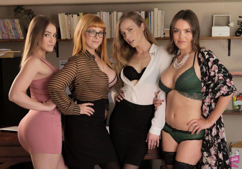 Cast of Lesbian Legal 17