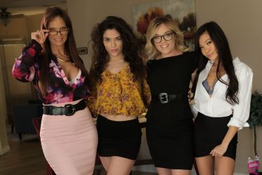 Cast of Lesbian Legal 17