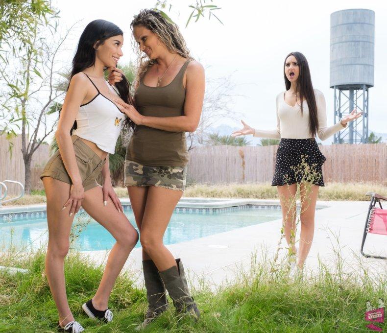 Eliza Ibarra, Prinzzess, and Savannah Sixx