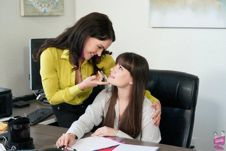 Alison Rey and Krissy Lynn Lesbian Tutors Girlfriends Films