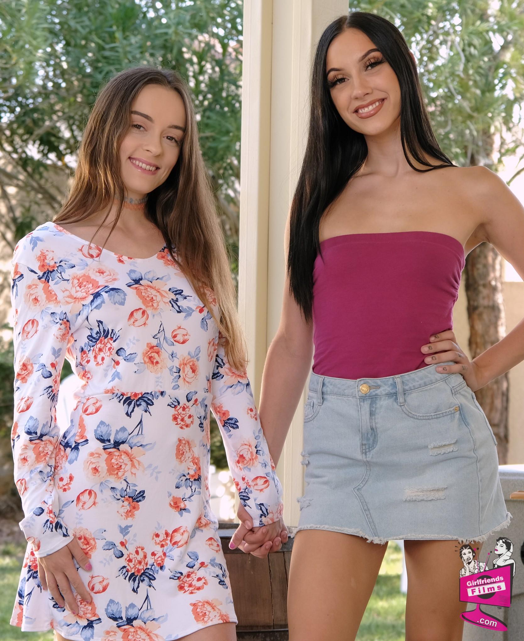 Lily Glee and Jazmin Luv