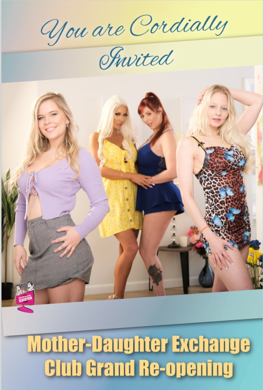 New release Mother-Daughter Exchange Club 61 | Girlfriends Films