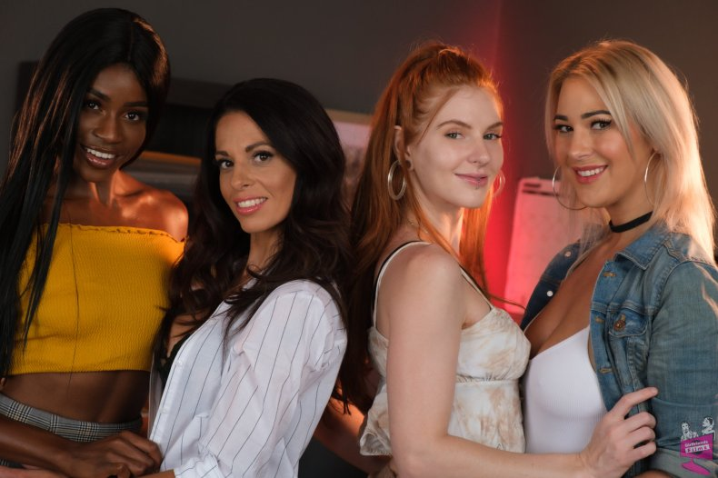 Cast of Lesbian Crime Stories 6   Girlfriends Films
