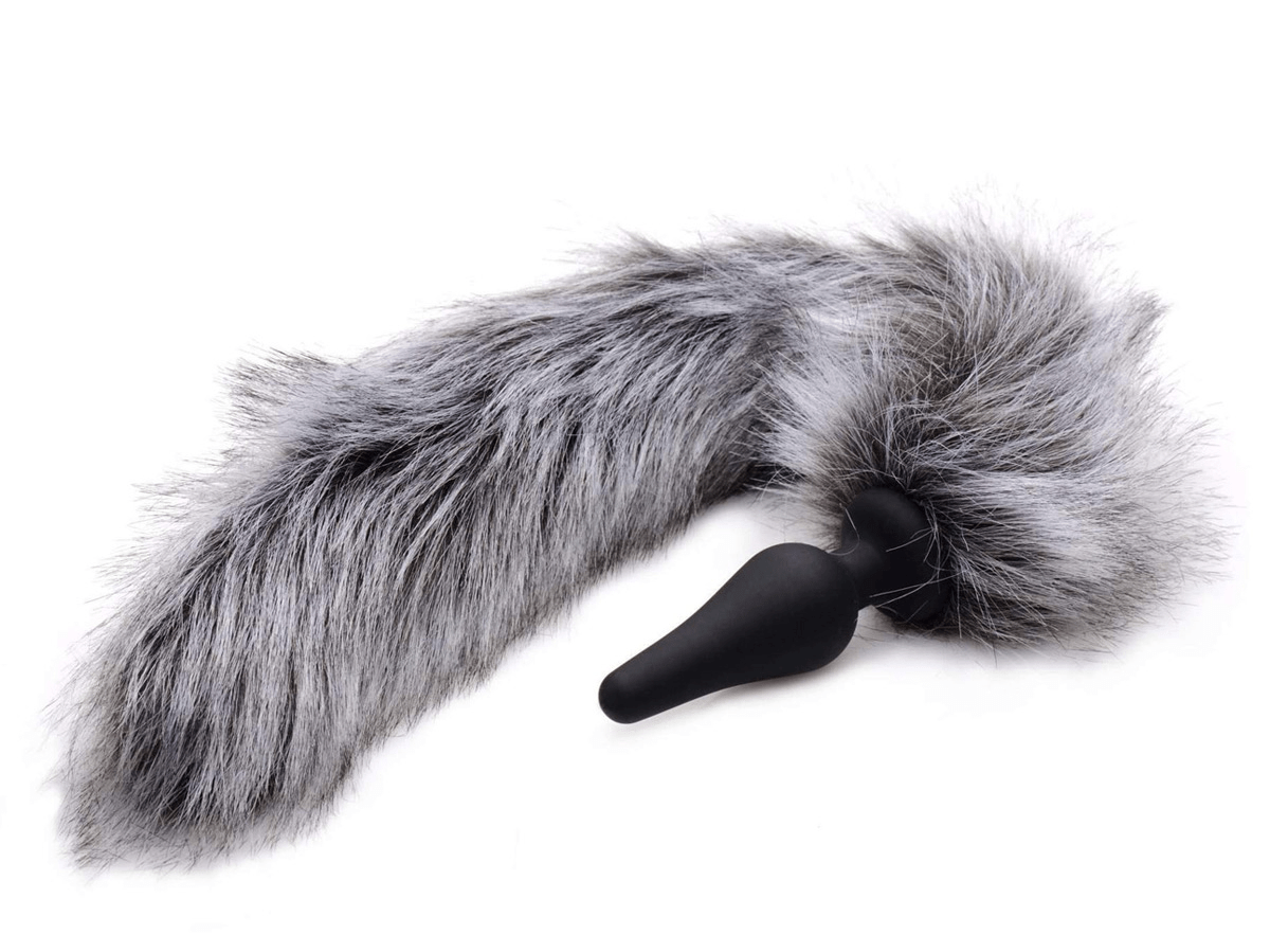 Tailz Fox Tail Anal Plug and Ears