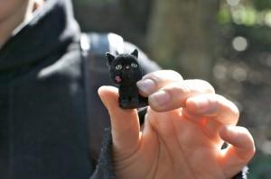 Scambio gatto nero per spilletta GGD