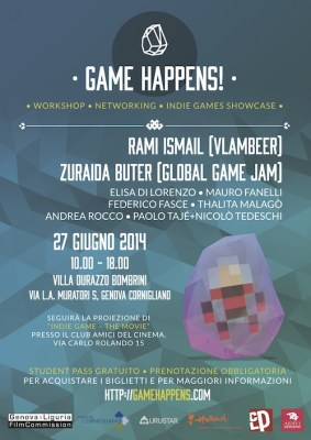 Game Happens! - poster