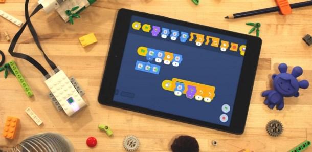 Prototipo dell'implementazione di Scratch Blocks sull'app LEGO WeDo 2.0