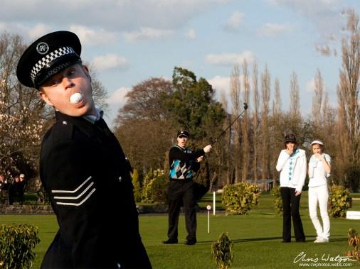 golf ball mouth
