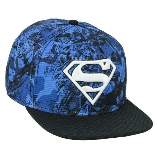 superman hat blue camo BBT clothing