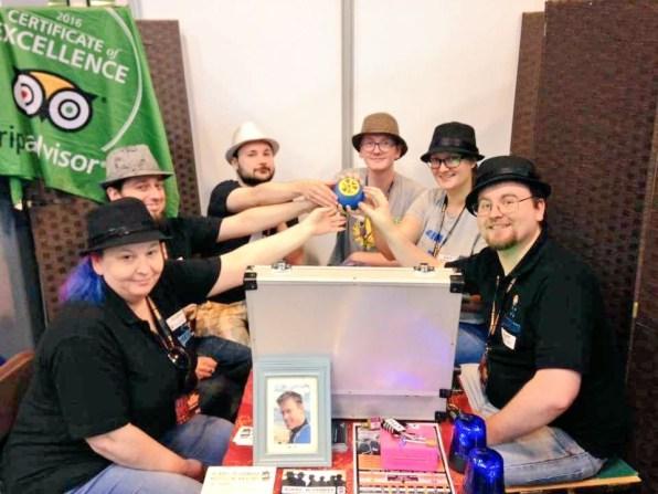 Press Gang Team plays Agent November UK Games Expo 2017