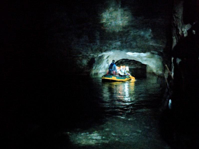 go below challenge boat trip