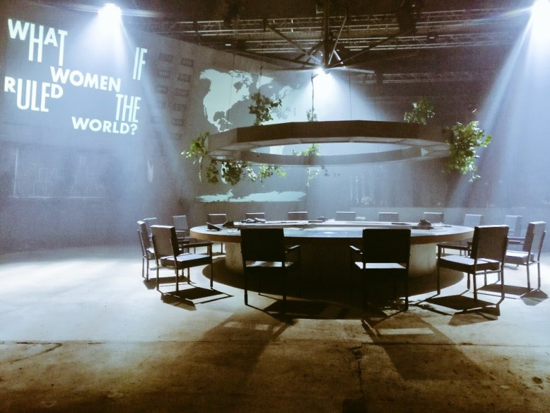 mif what if women ruled the world war room