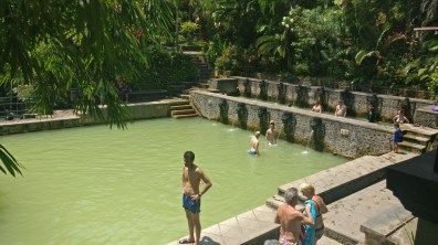 Bali Honeymoon Banjur hot springs main pool