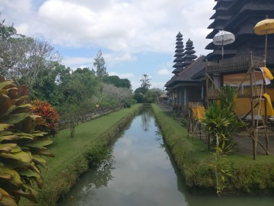 Bali Honeymoon Taman Ayun Temple moat