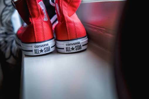 Geek Wedding Converse