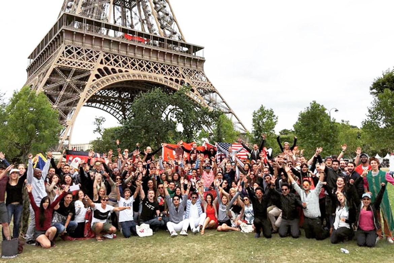 Tomorrowland Eiffel Tower