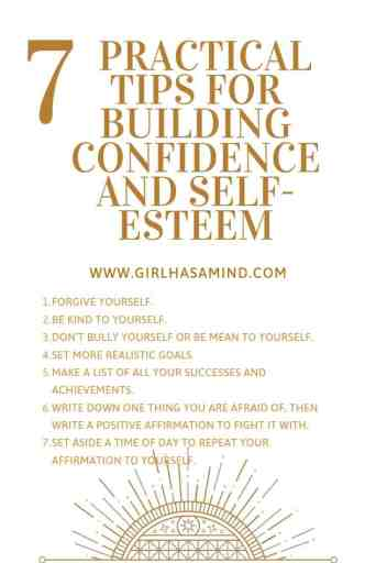 Girl Has a Mind - 7 Practical Tips for Building Confidence
