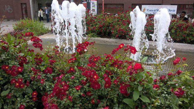 Little fountain in Monza