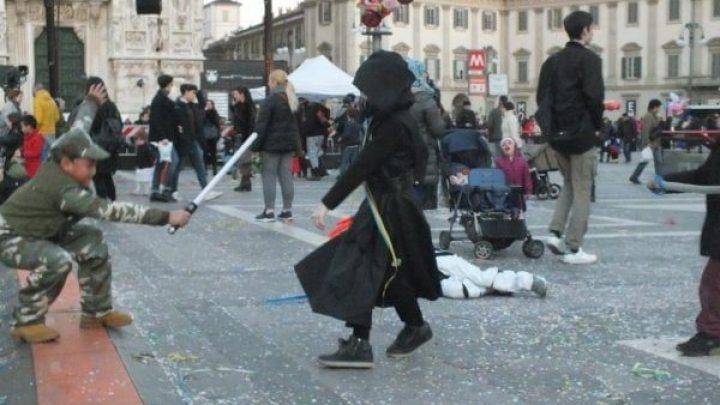 Milano Carnival 2017 at Piazza Duomo