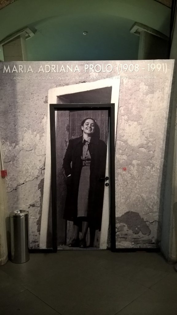 An Image of the founder of National Cinema Museum - Maria Andriana Prolo