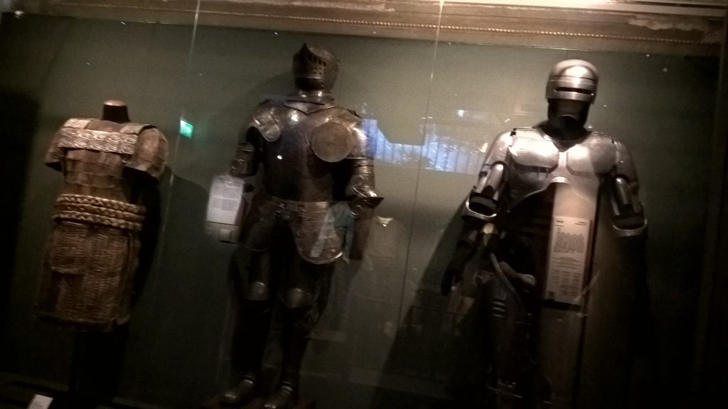 Replicas of Helmets and Armours of some Super Heroes at Cinema Museum