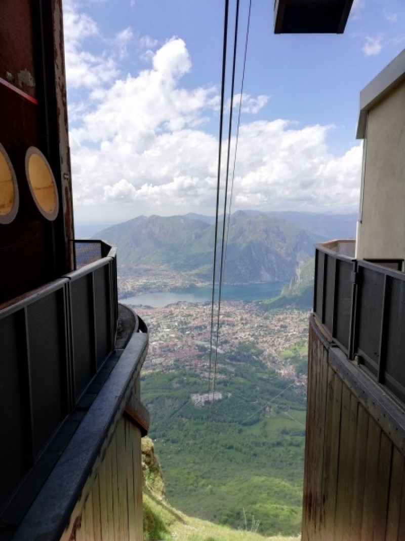 Cable Link from Lecco to Piana d'Erna