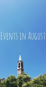 Events in August