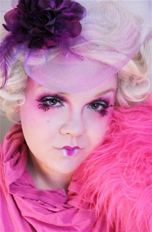 Effie Trinket Makeup